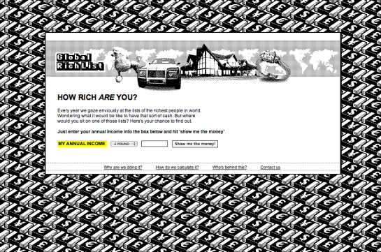 Global Rich List グローバルリッチリスト画面1